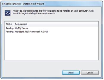 FingerTec Ingress Software User Guide | Chapter 1