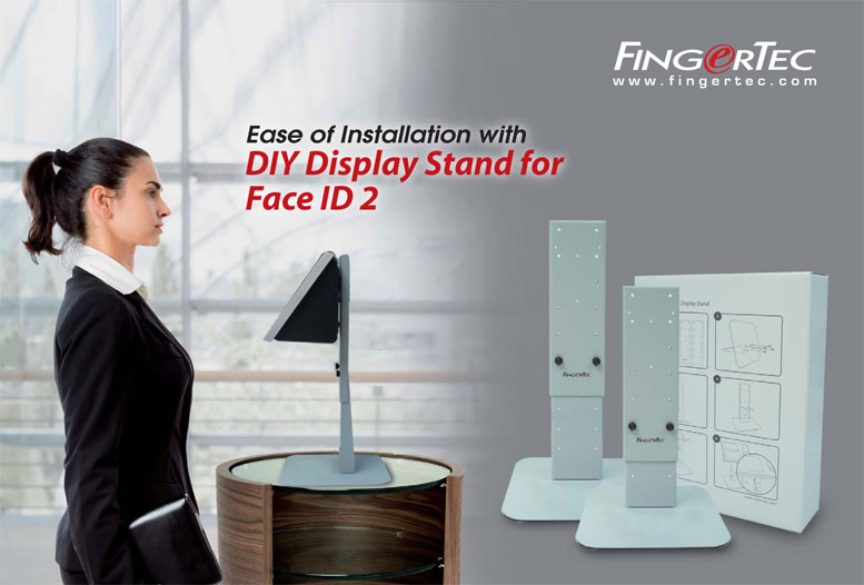 FingerTec DIY Display Stand for Face ID 2   Providing