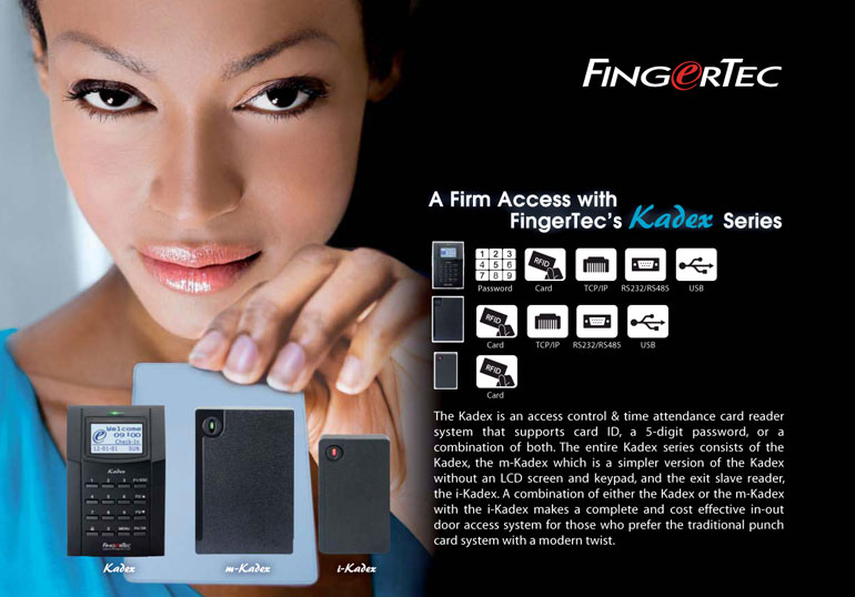 RFID Access Control System : FingerTec Worldwide