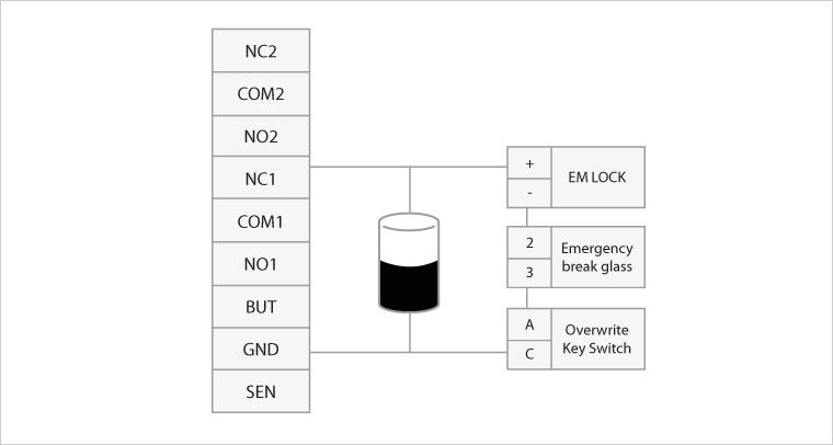 fingertec worldwide l technical tips vol 3 july 2011 security door wiring diagram type c door lock wiring diagram #12