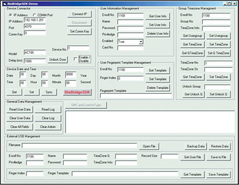 FingerTec BioBridge | Providing fingerprint, face recognition, and
