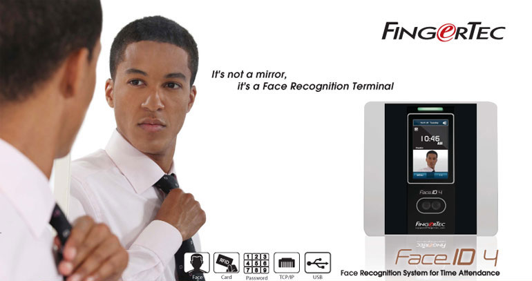 Fingertec Face ID 2 Biometric Time Clock