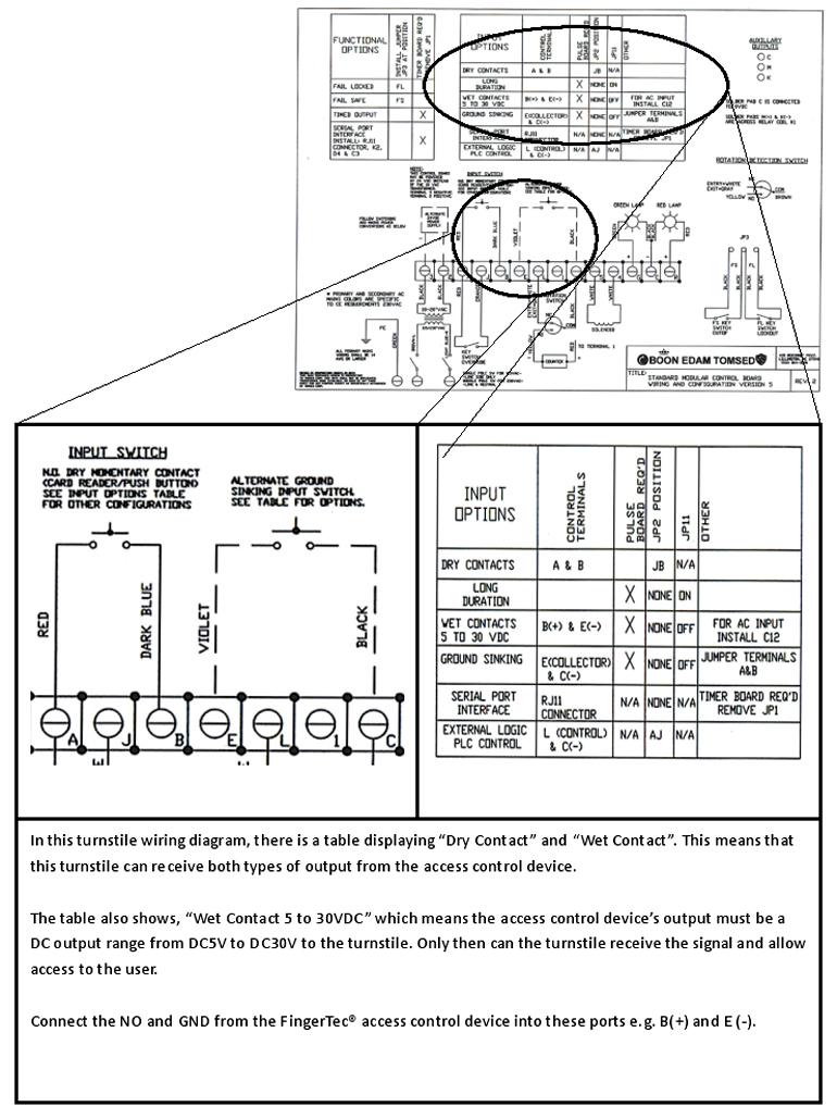 AS01 07 fingertec newsletter turnstile wiring diagram at nearapp.co