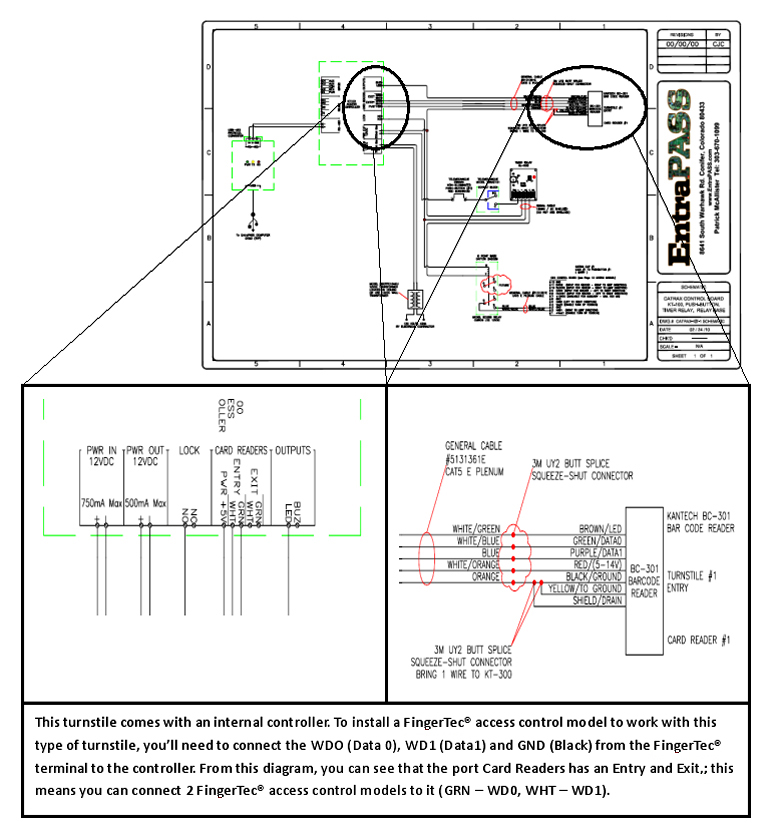 AS01 08 fingertec newsletter turnstile wiring diagram at nearapp.co